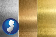 new-jersey sheet metal surface textures