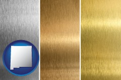 new-mexico sheet metal surface textures