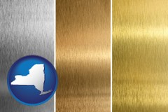new-york sheet metal surface textures