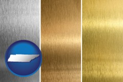 tennessee sheet metal surface textures