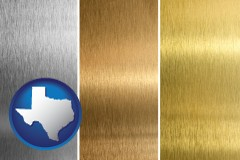 texas sheet metal surface textures