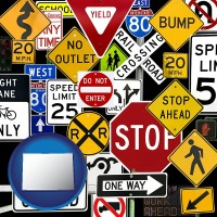 colorado road signs