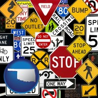 oklahoma road signs