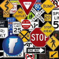 vermont road signs