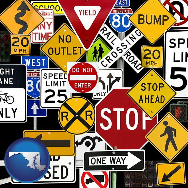 Signs Manufacturers & Wholesalers in Maryland