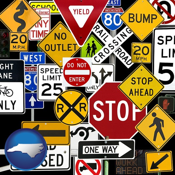 Image result for road signs north carolina