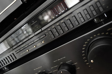 a stereo system