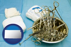 kansas surgical instruments and bandages