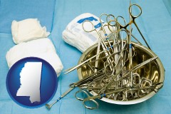 mississippi surgical instruments and bandages
