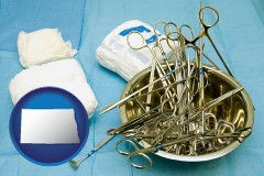 north-dakota surgical instruments and bandages
