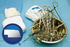 nebraska surgical instruments and bandages