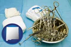 new-mexico surgical instruments and bandages