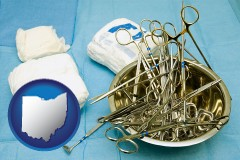 ohio surgical instruments and bandages