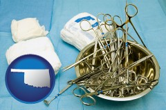 oklahoma surgical instruments and bandages