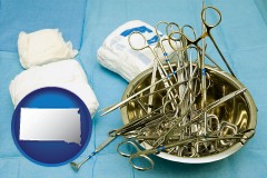 south-dakota surgical instruments and bandages