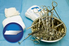 tennessee surgical instruments and bandages