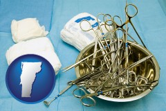 vermont surgical instruments and bandages
