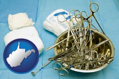 west-virginia surgical instruments and bandages