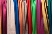 colorful synthetic fabrics