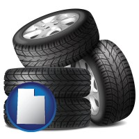 utah four tires with alloy wheels