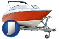 indiana a boat trailer