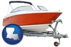 louisiana a boat trailer