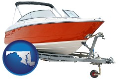maryland a boat trailer