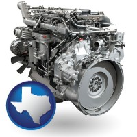 texas a truck engine