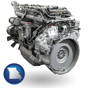 a truck engine - with Missouri icon