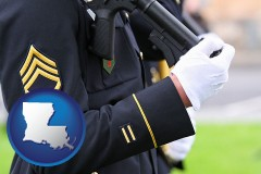 louisiana a United States Army soldier in uniform