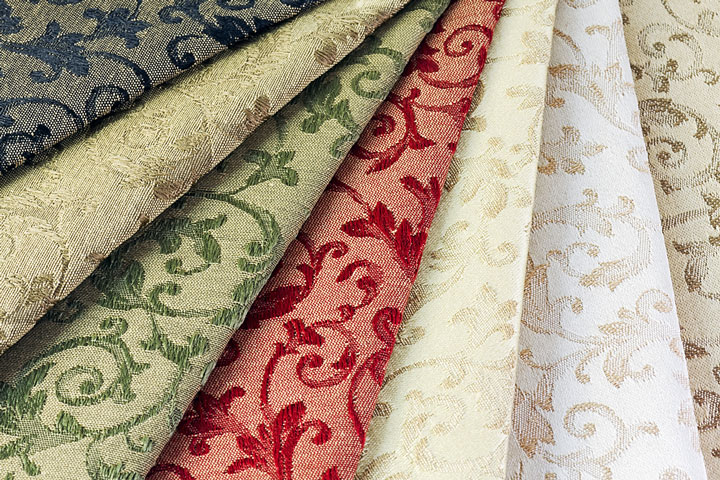 Attractive Colorful Upholstery Fabric Samples