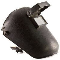 a protective mask for welders
